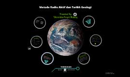Metode Radio Aktif dan Tarikh Geologi