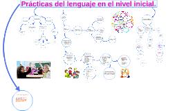Prácticas del lenguaje en el nivel inicial