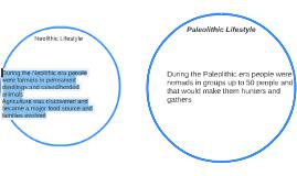 Paleolithic Lifestyle