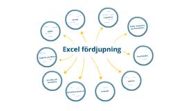 Excel - fördjupning