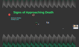 Signs of Approaching Death