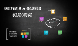Writing a careeer objective