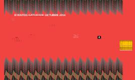 EVENTOS GATORADE OCTUBRE 2014