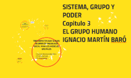 Copy of EL GRUPO HUMANO MARTÍN BARÓ
