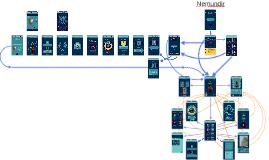 Nemundir prototype screens and navigation