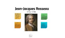 Jean-Jacques Rosseau