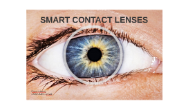 Development of a  technologieplatformfor smart contact lenses