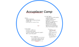 Accuplacer Camp