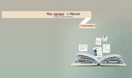 May Sarton- A Diarist