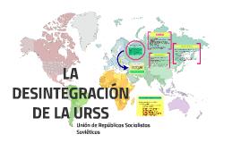 Copy of LA DESINTEGRACIÓN DE LA URSS