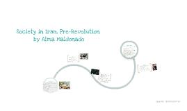 Society of Iran [Pre-Islamic Revolution]