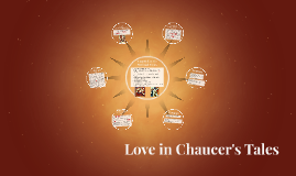 Love in Chaucer's Tales
