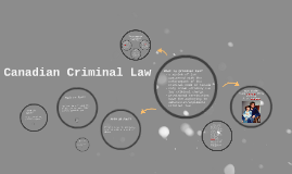 Canadian Criminal Law