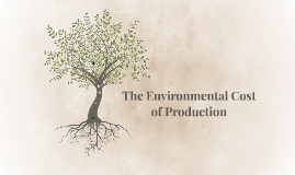 Environmental Cost