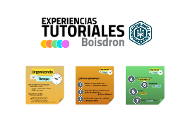 Experiencias Tutoriales