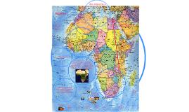 Африканский континент расположен на линии экватора и пересек