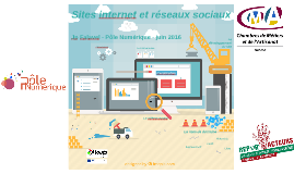 Repar'acteurs - site internet & réseaux sociaux - Pôle Numérique - juin 2016