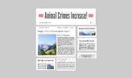 Animal Crimes Increase!