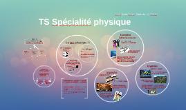 TS Spécialité physique