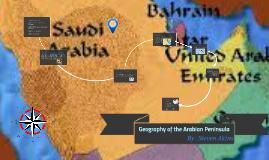 Geography of the Arabian Peninsula