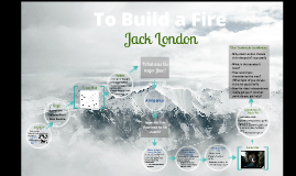 "Copy of Jack London - ""To Build a Fire"" Presentation"