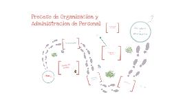 Organización y Administración de Personal