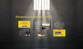 Center for the internment of foreigners