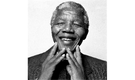 This is Nelson Mandela