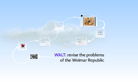 Revision: Problems of the Weimar Republic