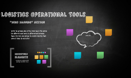 Logistics Operational Tools