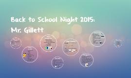 Copy of Back to School Night 2015