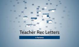 BCS Teacher Rec Letters