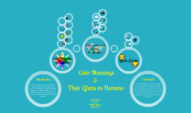 Copy of  Color Meanings  & Their Effects on Humans