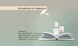 Copy of Introduction to Competency