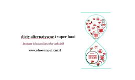 diety alternatywne