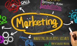 Copia de Marketing en las redes Sociales