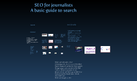 Copy of Copy of SEO FOR JOURNALISTS
