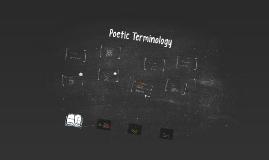 Poetic Terminology