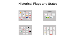Historical Flags and States Evolution