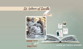 St. Isidoro of Sevilla