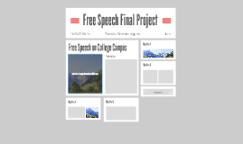 Free Speech Final Project