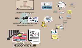 """Copy of """"ACUERDO DE COOPERACIÓN MÉXICO-OCDE PARA MEJORAR LA CALIDAD"""