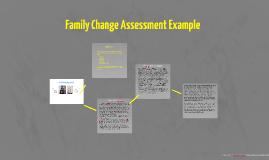 Family Change Example