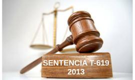 Sentencia T-619 2013