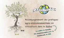 Accompagnement des pratiques agro-environnementales en viticulture dans le Rhône