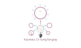 Kabanata 23- Isang Bangkay