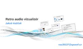 Retro audio vizualizér