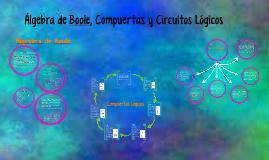 Circuitos y Compuertas Lógicas; Álgebra de Boole.