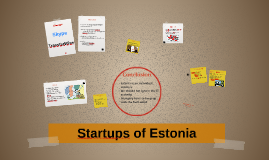 Estonia and the startups