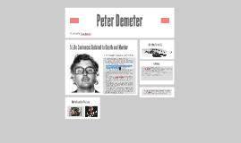 Peter Demeter
